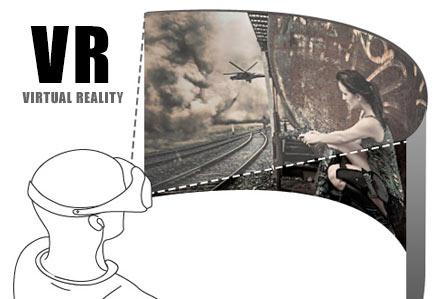 网站设计-虚拟现实 VR开发