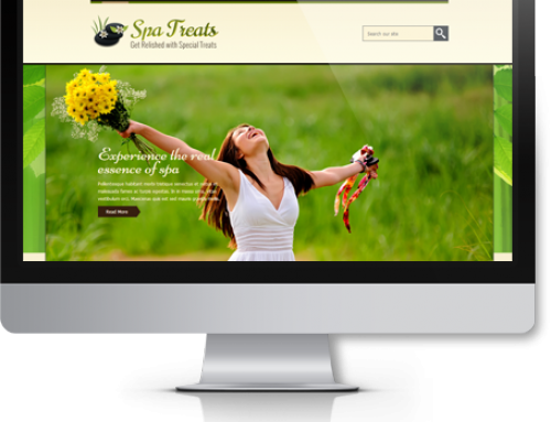 Spa网站和推广经典解决方案: 针对按摩/指甲
