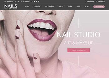 Beauty指甲店网站