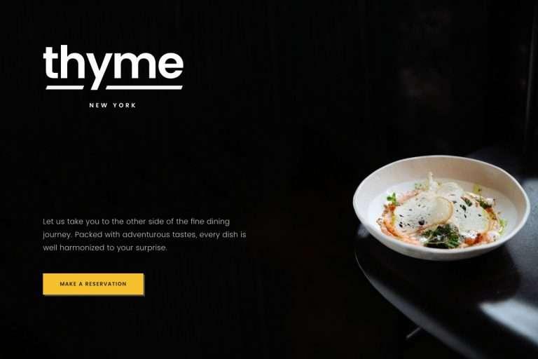 米其林餐厅网站